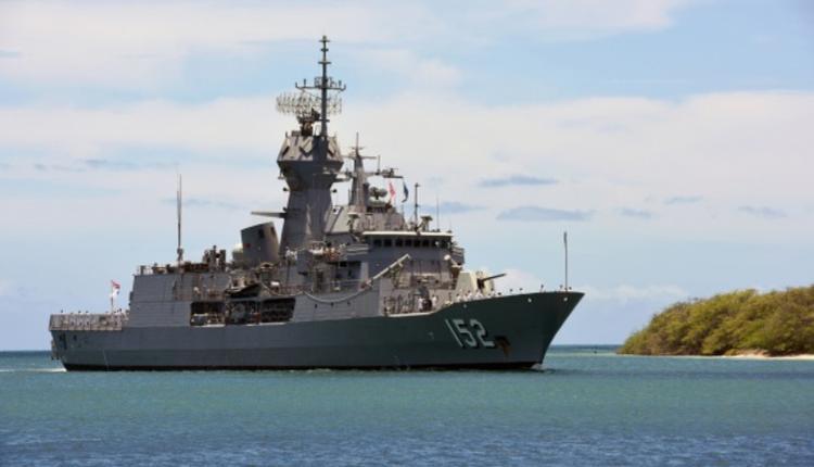 澳新军团级护卫舰(ANZAC class Frigates)HMAS Warramunga号