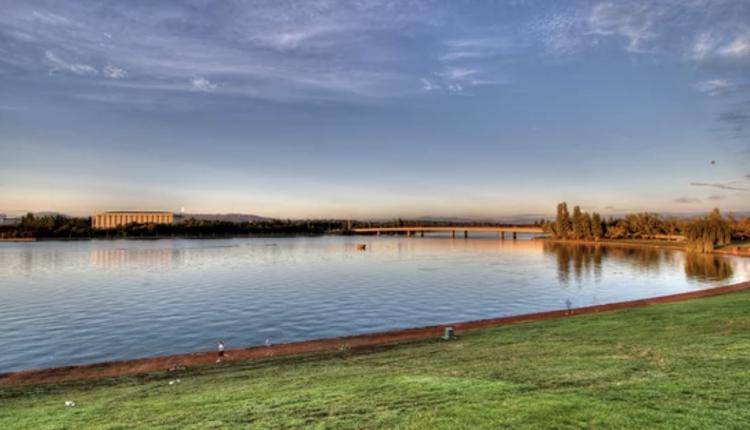 堪培拉Lake Burley Griffin