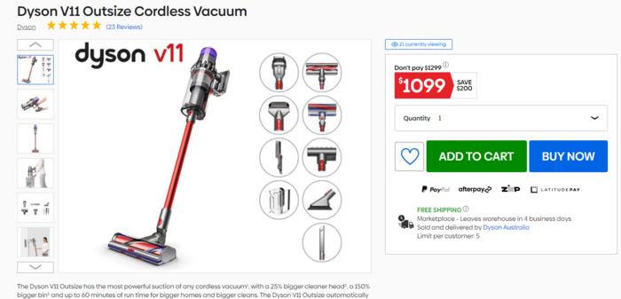戴森V11吸尘器