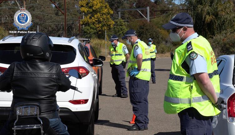 新州警察 澳洲疫情