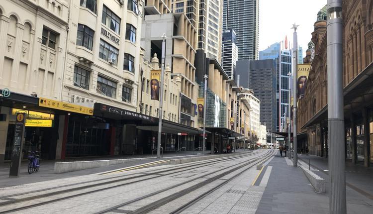 悉尼 澳洲疫情 悉尼市中心