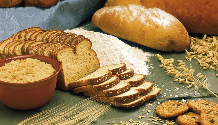 谷物,面包