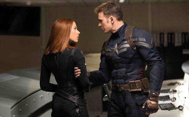 美國隊長與黑寡婦