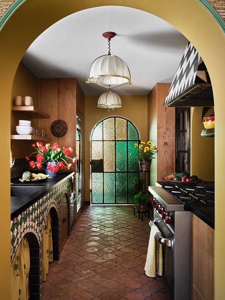 厨房的装潢