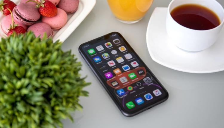 iphone手机 示意图