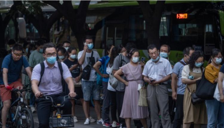 疫情下的中国北京