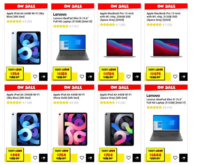 苹果电脑9折特卖