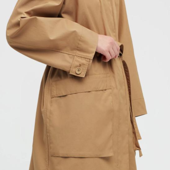 U系列全棉长款大衣