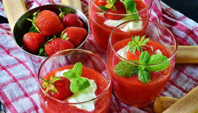 草莓,果酱