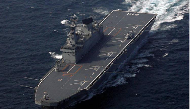 韩国海军舰
