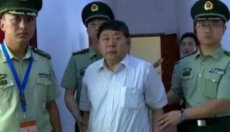 2012年谷俊山被抓