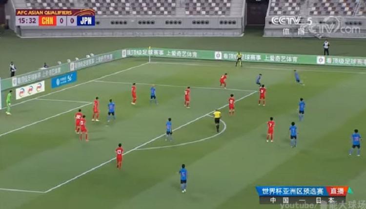 连续23年不胜日本 中国国足12场对阵无一胜绩
