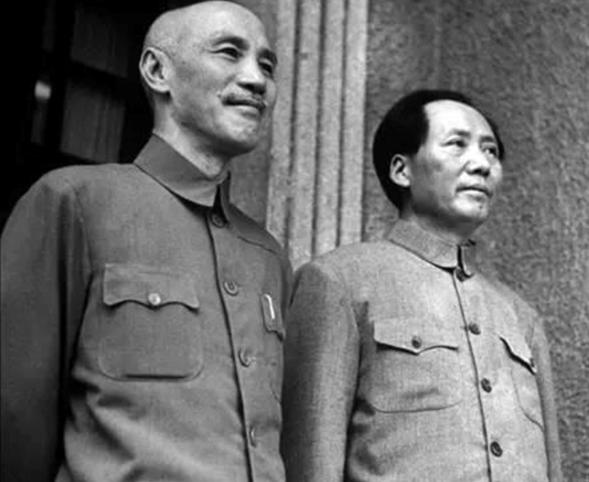 蒋介石与毛泽东