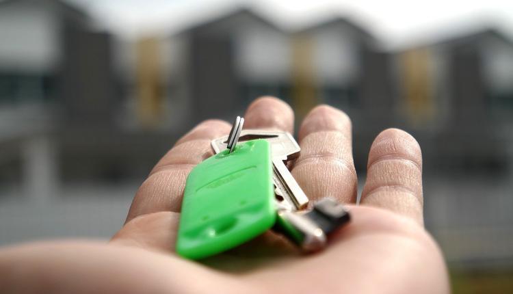 租房,钥匙,房屋