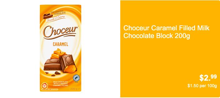 Choceur焦糖牛奶巧克力