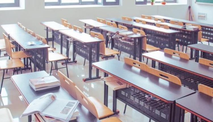 开学季空无一人的教室