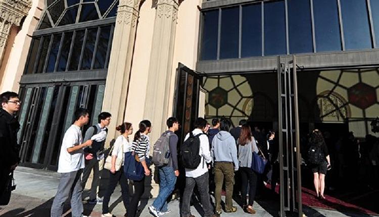 中国留学生,美国加州大学