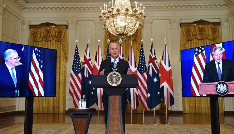 拜登,美国总统,美英澳建新战略联盟