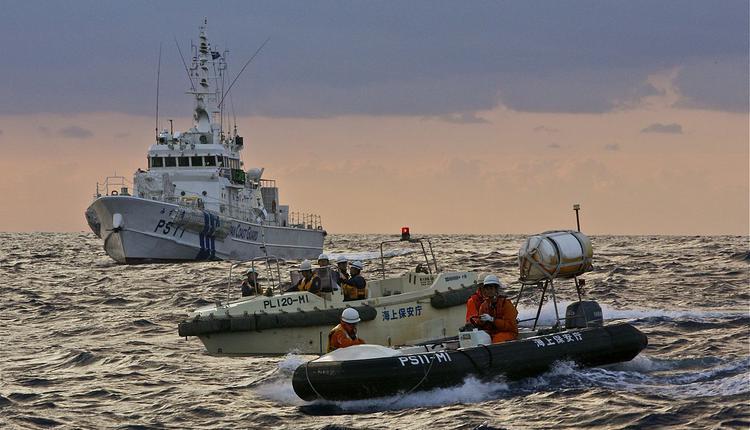 钓鱼岛,日本海上保安厅巡逻艇