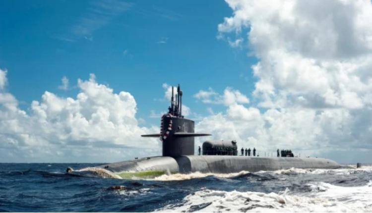 美國海軍喬治亞號核潛艇。