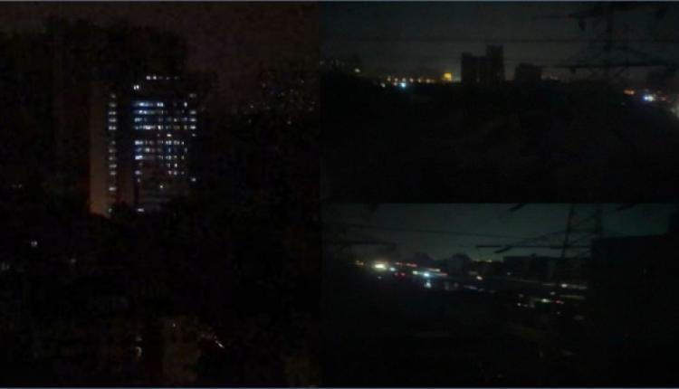 大陆最近多省大范围停电(图片来源:网络)