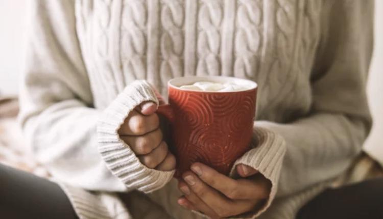 冬季保暖,咖啡