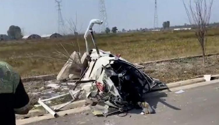 直升机坠毁事故