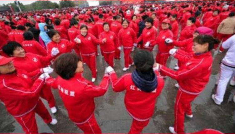 中国大妈的广场舞