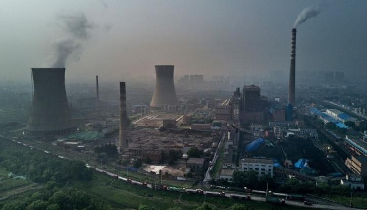 中国安徽省淮南市的一家中国国有燃煤电厂