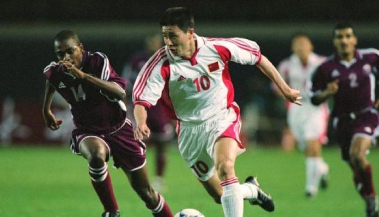 20年前郝海东在沈阳五里河体育馆参加比赛。