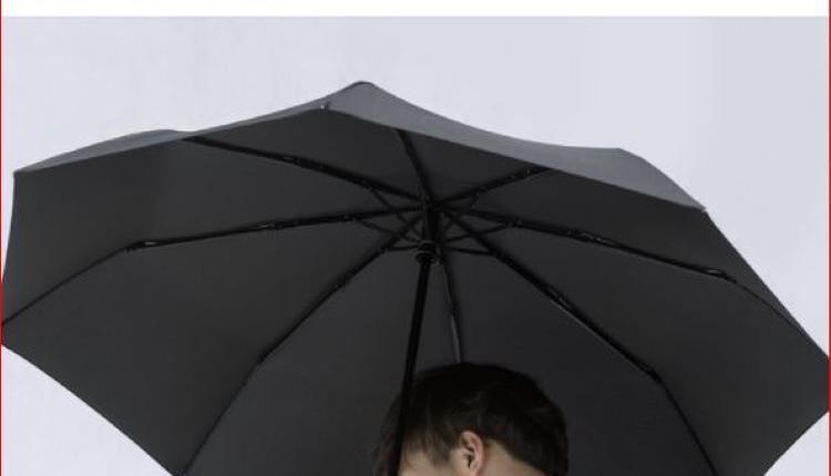 小米雨伞广告