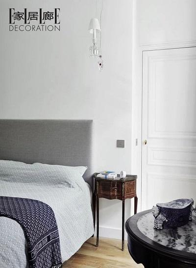 卧室采用灰色调
