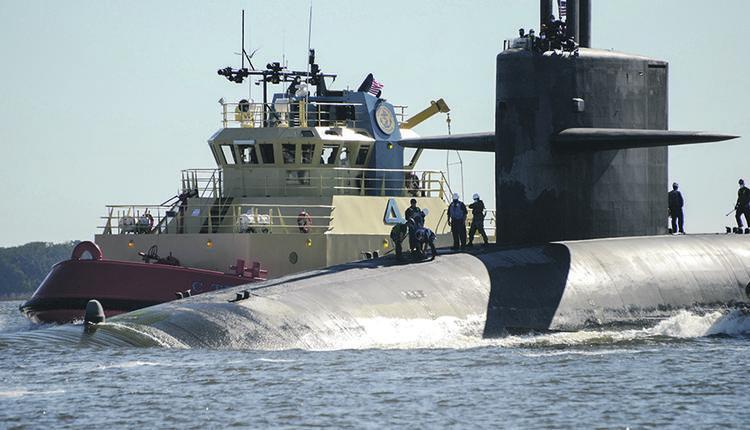 弹道导弹核潜艇