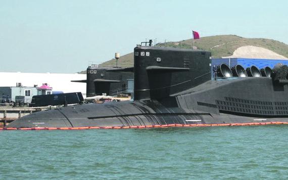 中国海军094晋级战略核潜艇