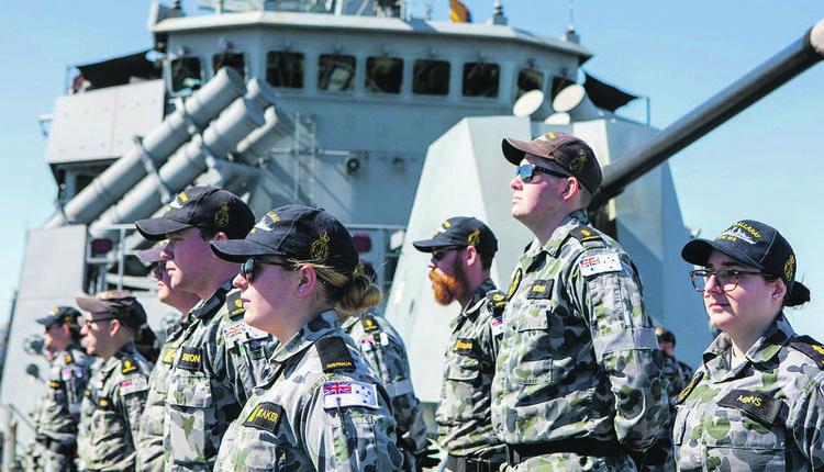 澳洲皇家海军
