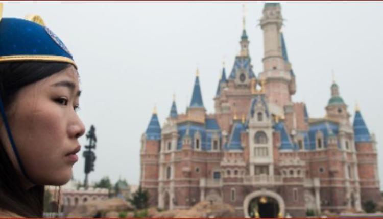 上海迪士尼一角