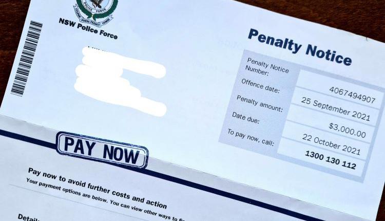 新州 罚单