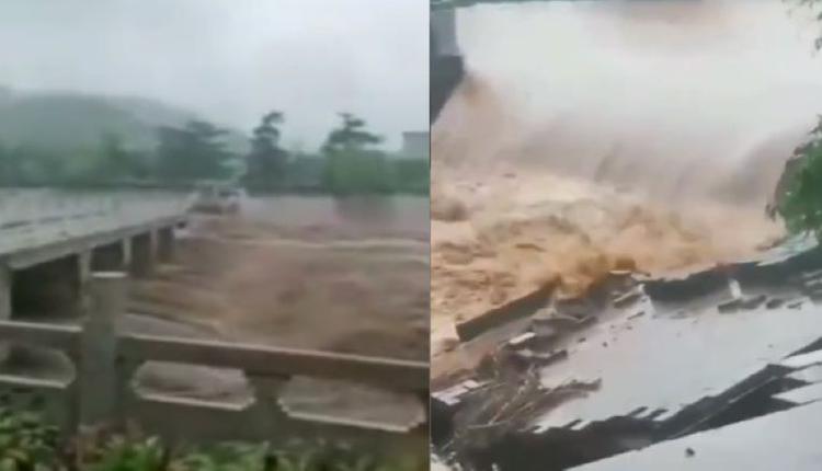 洪灾  示意图