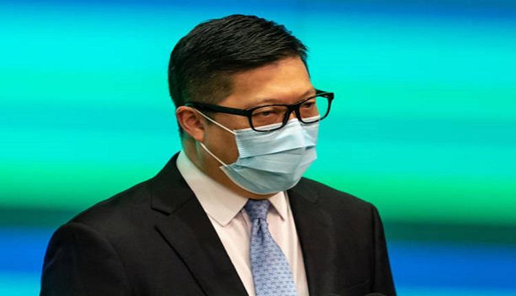 保安局局长邓炳强