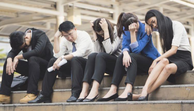 中国就业现状 示意图