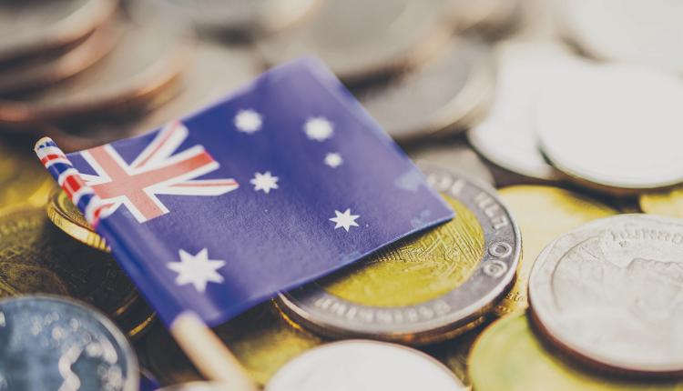 澳元,澳洲 国旗,钱,澳洲 金融