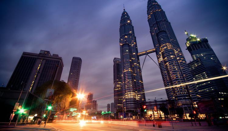马来西亚 双子塔