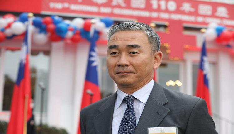 台湾驻美军事代表团团长余剑锋