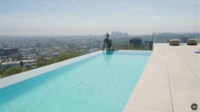 洛杉矶山顶豪宅
