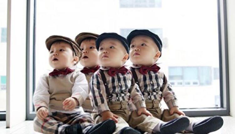 双胞胎,多孩家庭,儿童