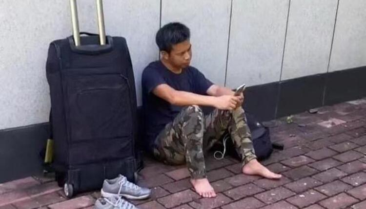 有关前重庆时报记者宋湘波流浪街头的视频在网络火了!